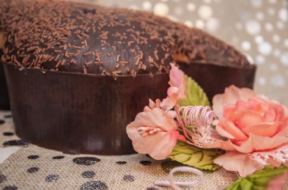 la Colomba Pasquale al cioccolato