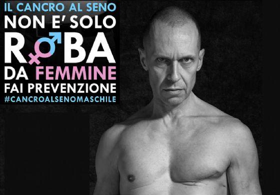 Stefano, l'uomo con un cancro al seno: