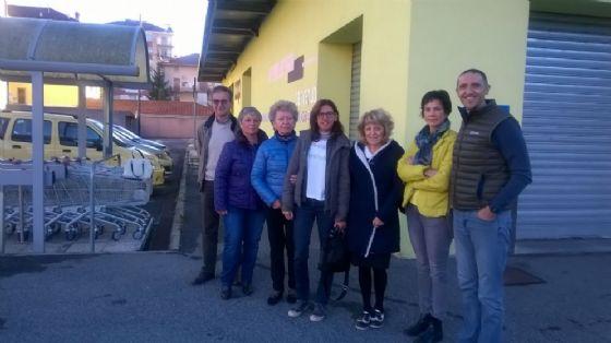 Foto di gruppo dei volontari