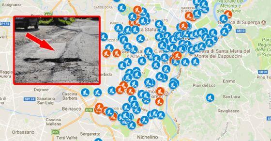 La mappa degli interventi