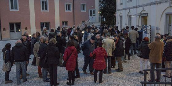 Afflusso di pubblico a Ronchi per la personale di Nicoletta Leghissa