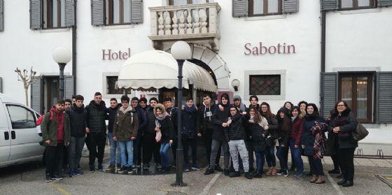 I ragazzi dell'istituto di Castelvetrano (TP)