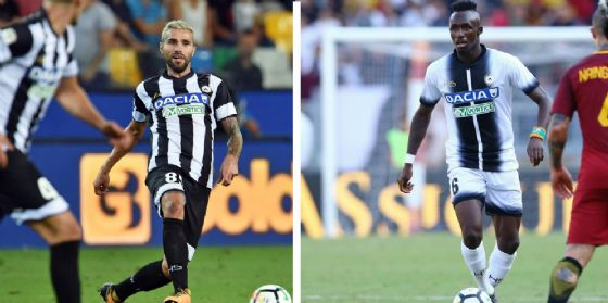 Udinese, si fermano Fofana e Behrami (© Ferraro)