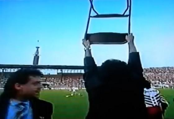 Emiliano Mondonico e il gesto della sedia