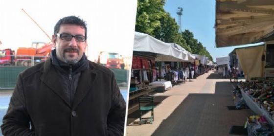Stefano La Malfa ed il mercato ambulante di piazza Falcone