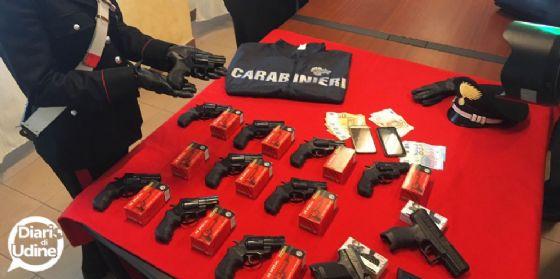 Scoperte armi e munizioni alla barriera di Ugovizza
