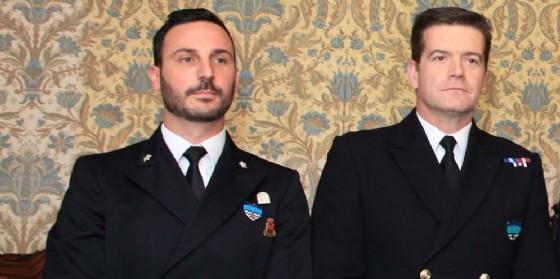 Trieste, Dipiazza riceve una delegazione dei due gruppi navali della Nato