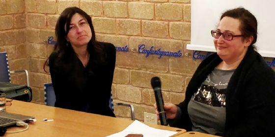 Donatella Bianchettin e Filomena Avolio (© donne impresa fvg)