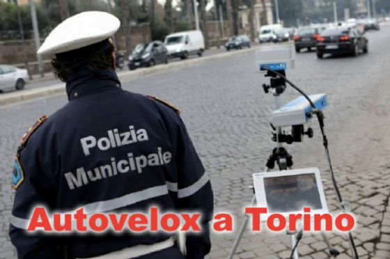 Le postazioni autovelox a Torino (© Polizia Municipale)