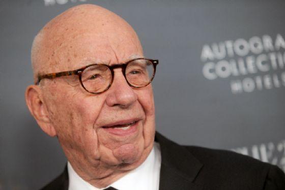 Il magnate australiano Rupert Murdoch
