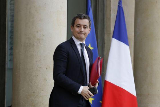 Il ministro dei Conti pubblici francesi con delega per le dogane Gerald Darmanin