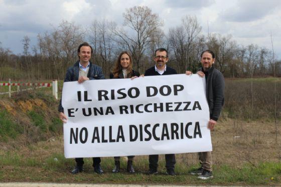 Nella foto: Alex Squaiella, Elena Chiorino, Andrea Delmastro, Carlo Zaccaria (© Diario di Biella)