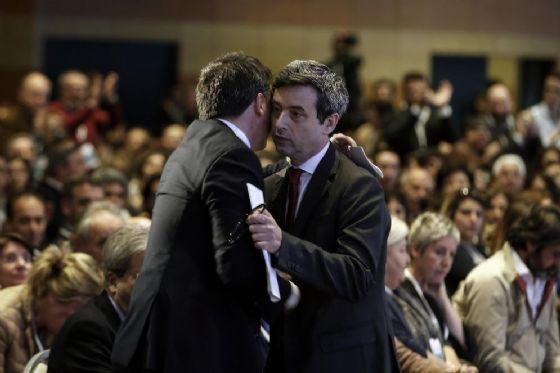 Matteo Renzi e Andrea Orlando.