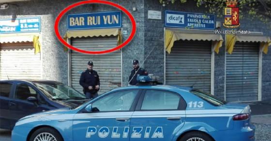 Chiuso bar in corso Benedetto Brin