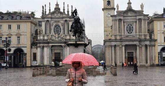 Pioggia a Torino, la primavera sembra rinviata