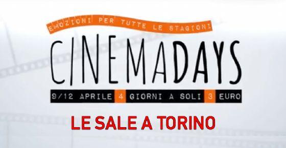 CinemaDays, a Torino il cinema a soli 3 euro: le sale che aderiscono ...