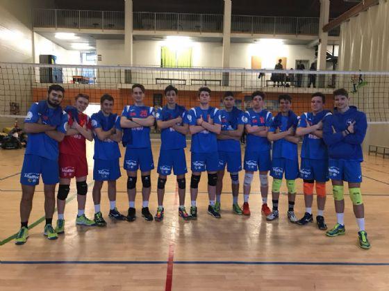 I ragazzi della Scuola Pallavolo Biellese che milita nel campionato di Serie D