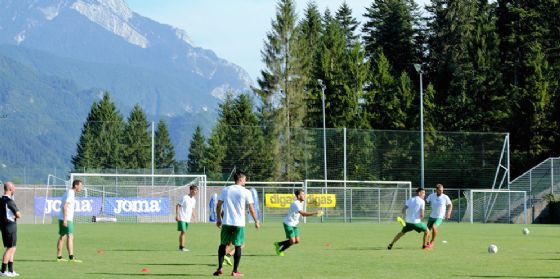 L'estate dei Camp è sempre più neroverde: giovani ramarri ad Arta Terme con la Prima Squadra