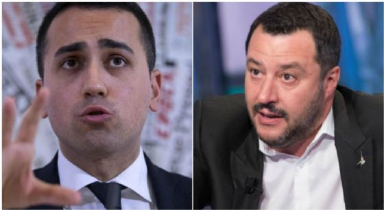 Luigi Di Maio e Matteo Salvini.