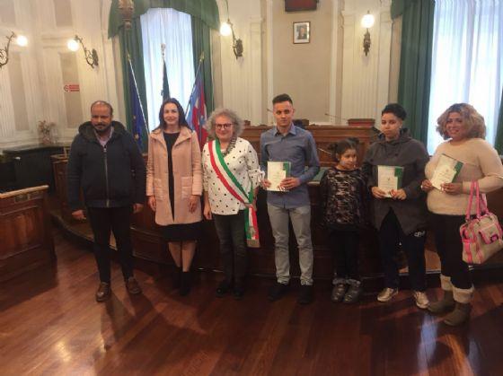 Foto ufficiale della cerimonia (© Diario di Biella)