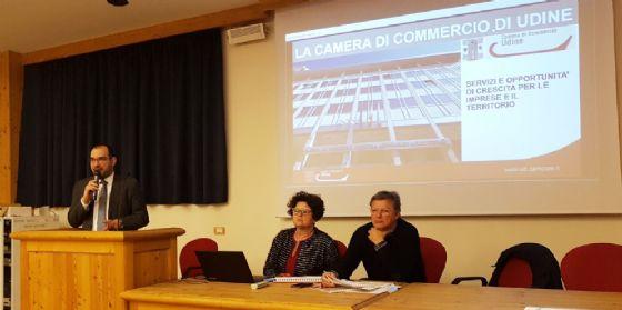 La Camera di Commercio di Udine incontra imprenditori e cittadini di Sappada