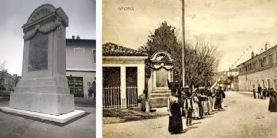 Sarà ricollocata la storica Stele di Zinzendorf (© Fb)