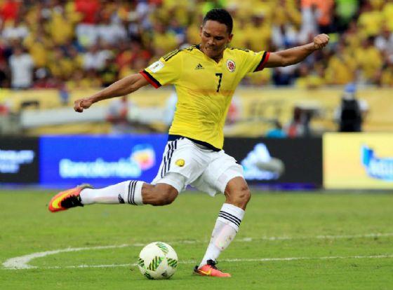 Carlos Bacca, attaccante colombiano del Milan in prestito al Villarreal