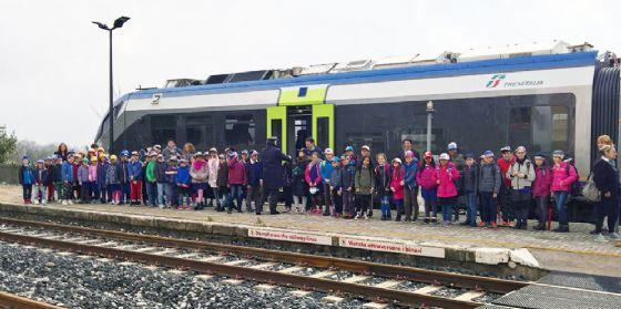 """""""Alla scoperta dei mestieri del ferroviere"""": ha preso il via la seconda edizione dell'iniziativa (© Comitato Pendolari Alto Friuli)"""