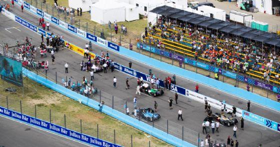 La griglia di partenza dell'ultimo ePrix di Formula E in Uruguay