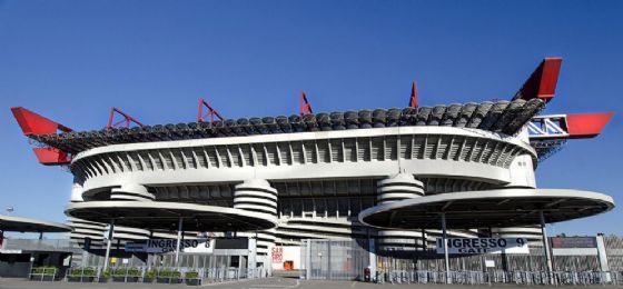Il maestoso stadio San Siro