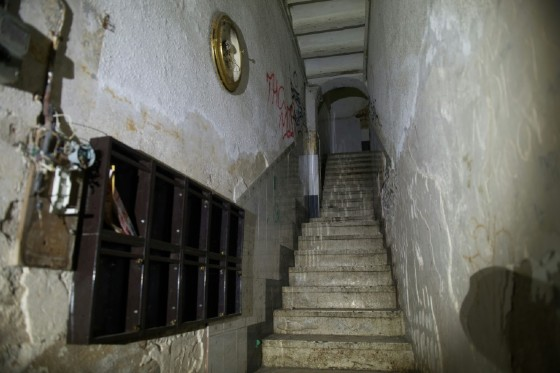 """Inside a building with a """"narcopiso"""", or drug-flat, in the central Barcelona district El Raval"""