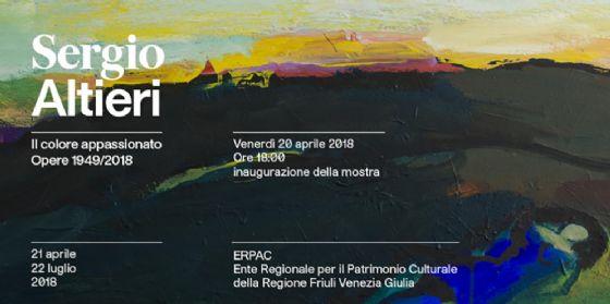 Gorizia, in arrivo la prima antologica del friulano Sergio Altieri