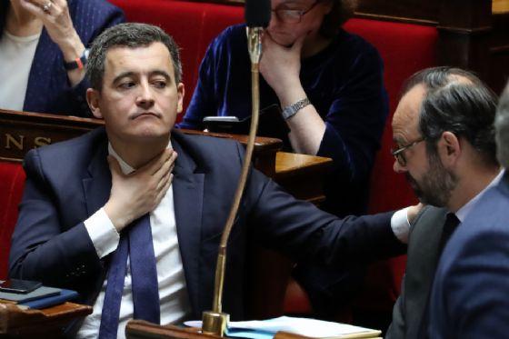 Il ministro francese dei Conti pubblici, Gerald Darmanin.