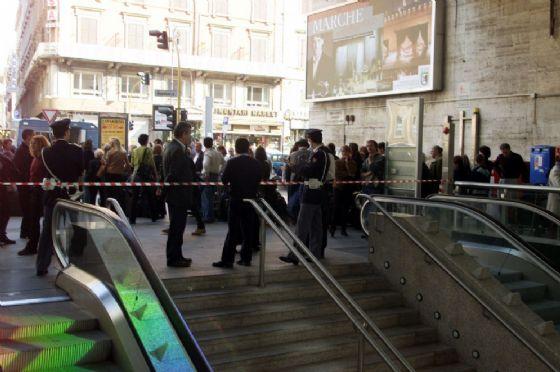 L'ingresso della stazione Termini di Via Marsala