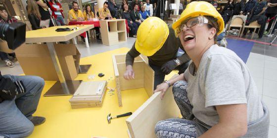 """""""Tiarepiadi 2.0"""": una sfida tra caccia al tesoro virtuale e montaggio mobili Ikea (© Tiare Shopping Villesse)"""