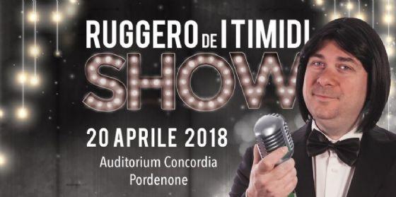 Al via il nuovo spettacolo di Ruggero de I Timidi a Pordenone