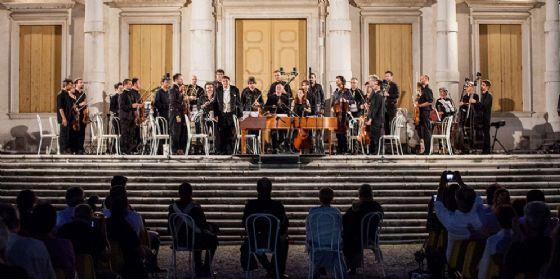 il m° Feruglio e l'Orchestra San Marco di Pordenone