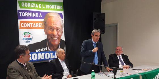 Gasparri appoggia Romoli: «La sua esperienza a servizio della Regione» (© Ettore Romoli)