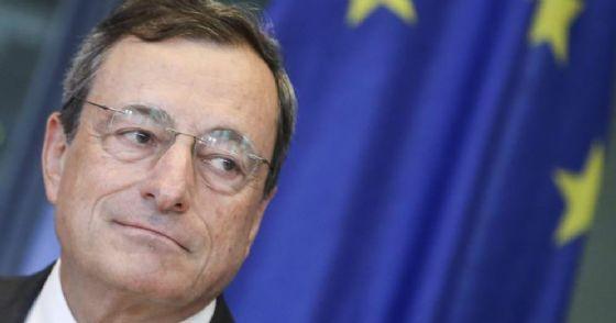 Il Governatore della Banca Centrale Europea, Mario Draghi