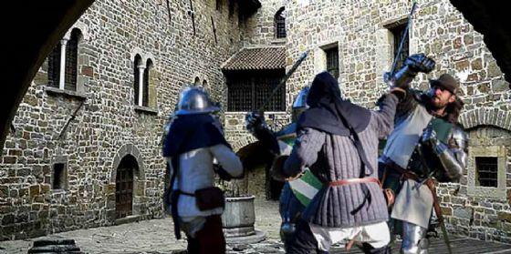 Quasi 7 mila persone alla rievocazione medievale in castello a Gorizia