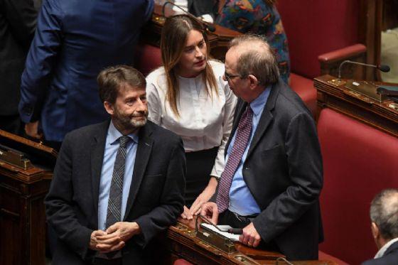 Il ministro uscente dei Beni culturali Dario Franceschini