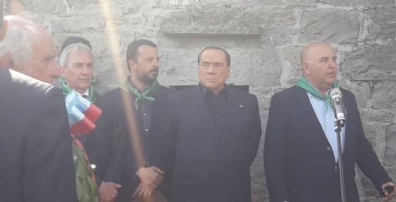 Berlusconi in Friuli attacca il M5S: «Siamo di fronte a un grave pericolo»