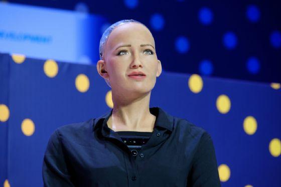 Il robot Sophia