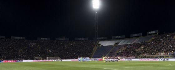 Lo stadio Renato Dall'Ara di Bologna che domenica ospiterà Bologna-Milan