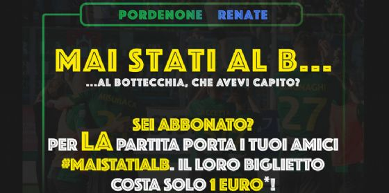 Pordenone-Renate: ultima di campionato. Partita decisiva per i playoff