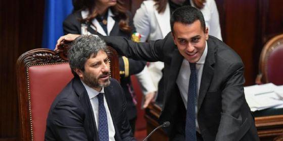 Roberto Fisco e Luigi Di Maio