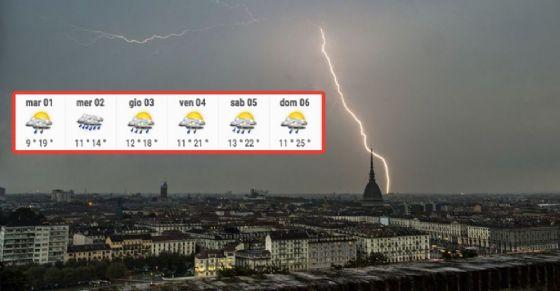 Meteo Torino, le previsioni in città