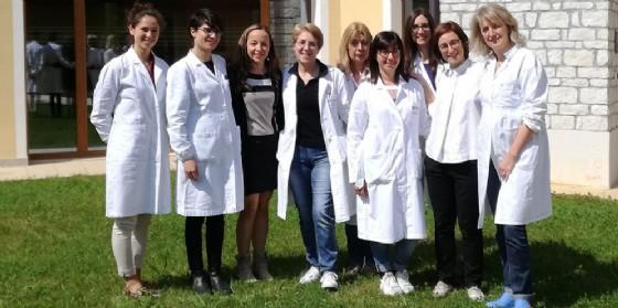 Il team della dottoressa Maestro