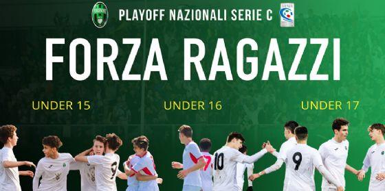 Pordenone unico club d'Italia in lizza nei playoff U17, U16 e U15 di Serie C