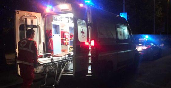 Corpo ritrovato sotto il ponte della Pistolesa (© Croce Rossa)